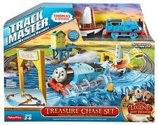 Thomas & Friends Trackmaster Motorized Railway Treasure Chest Set - CDB60 - New
