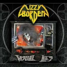 LIZZY BORDEN 'VISUAL LIES' CD RE-RELEASE NEW+