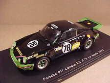 Spark 1/43 Resin Porsche 911 Carrera RS, '75 LeMans, Shell #78, Wollek &  #S2086