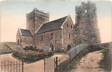 DOVER KENT UK OLD CHURCH & PHAROS~FRITH'S SERIES POSTCARD 1913
