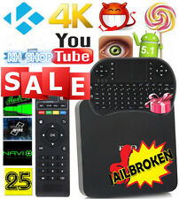 4K HD DLNA MX PRO S905 Quad Core Android5.1 Smart TV Box Fully Loaded + Keyboard