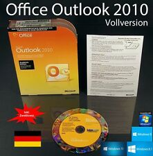 Microsoft Office Outlook 2010 VERSIONE COMPLETA BOX + CD EDU + seconda installazione-NUOVO