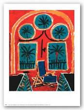 ART PRINT Interior with Blue Chain Pablo Picasso