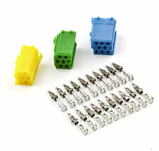 Auto Radio Mini ISO DIN Stecker SET AUDI A2 A3 A4 A6 TT VW Golf Polo Passat