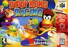 DIDDY KONG RACING NICE SHAPE Works Well NINTENDO 64 GAME N64 SYSTEM NES HQ