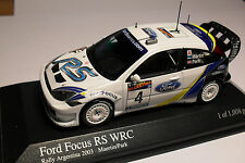 Minichamps 1/43 Ford Focus RS WRC #4 Rally Argentina 2003 Martin / Park
