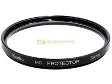 58mm. filtro MC Protector Kenko. UV filter.