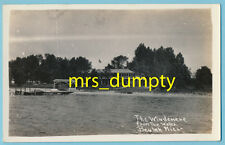 MI Beulah ~ The Windmere from the Water MICHIGAN RC ~ DOPS Stamp Box (1925-1942)