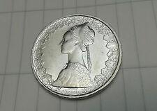 ITALIA LIRE 500 ARGENTO 1966 CARAVELLE MONETA SILVER ITALY COIN