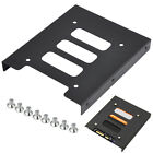 "2.5"" to 3.5"" SSD HDD Metal Adapter Mounting Bracket Hard Drive Holder for PC AP"