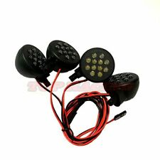 SUPER BRIGHT RED LED LIGHT 4 PODS FOR 1/5 SCALE HPI KM ROVAN BAJA 5T 5B 5SC