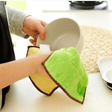 Zicrofiber Car Kitchen Home Towel Dishes Washing Polishing Cleaning Cloth Soft Z