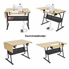 folding table for sewing machine
