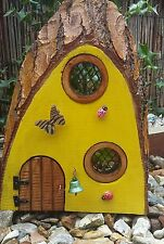 Fairy Pixie door house handmade garden/ indoor ornament