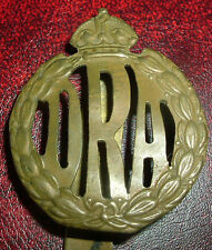 CAP BADGE-WW1 S AFRICAN DRA DEFENCE RIFLE ASSN GERMAN SOUTHWEST AFRICA 1914-1915