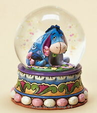 "DISNEY-Skulptur - Schneekugel  ""EEYORE Gloom to Bloom"" - Jim Shore Figur 4015351"
