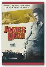 ACTOR POSTER James Dean Dream as if you'll live forever