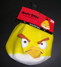 NWT Rovio Angry Birds Yellow Bird Adult Latex Face Mask