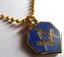 Masonic HINGE FLIP Square Compass Euclid All Seeing Eye Trowel Pendant Necklace