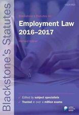 Blackstone's Statutes on Employment Law 2016-2017 9780198768265