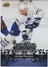 08-09 2008-09 UPPER DECK LUKE SCHENN OVERSIZED YOUNG GUNS OYG14 MAPLE LEAFS