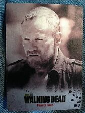 Walking Dead Season 3 Part 2 Silver Metal Parallel Family Feud Card 39 Crypto