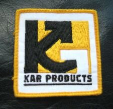 KAR PRODUCTS EMBROIDERED SEW ON PATCH CUTTING TOOLS ADVERTISING UNIFORM 2 3/4""