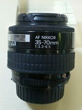 EXCELLENT AF NIKKOR 35-70MM 1:3.3-4.5 WORKING CONDITION FULL FRAME LENS