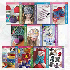 Knitted Series Collection Twenty to Make 11 Books Set Pack NEW Knitted Flowers