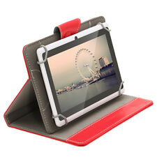 """iRULU 7"""" Tablet PC Android 4.4 Pad 8GB 1024*600 HD Quad Core Dual Cam w/Red Case"""