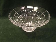 Waterford Crystal Flared Welcome Bowl dated 1997