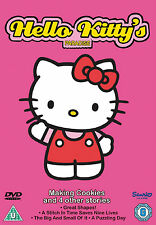 Hello Kitty - Hello Kittys Paradise - Making Cookies - DVD - BRAND NEW SEALED