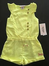 NWT Juicy Couture Baby Girls ROMPER , Size 18 Months