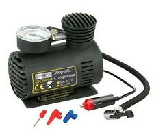 12V NEW CAR ELECTRIC MINI COMPACT COMPRESSOR PUMP BIKE TYRE AIR INFLATOR 300PSI
