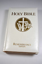 Holy Bible Remembrance Edition KJV 1978 National Publishing Company NICE