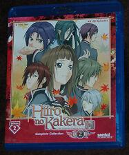 HIIRO NO KAKERA: Complete Season 2 BLU-RAY ENGLISH SENTAI ANIME LOT