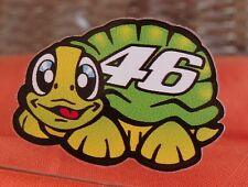VALENTINO ROSSI Helmet visor decal sticker TURTLE FANTASTIC OFFICIAL SIZE