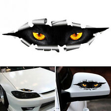3D Car Styling Funny Cat Eyes Peeking Car Sticker Waterproof Auto Accessories