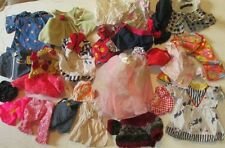 Big lot of 26 DOLL Fashion clothes Clothing baby & girl mixed small sizes