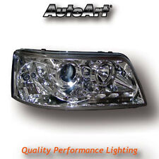 Chrome DRL LED Projector Headlights VW Caravelle Transporter T5 -09 Pre-Facelift