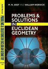 Problems and Solutions in Euclidean Geometry (Dover Books on Mathematics), Mathe