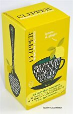 Clipper 4 Boxes Lemon & Ginger infusion 25 Enveloped Teabags per Box