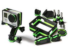Frame Mount Monster Set für GoPro Go Pro HD HERO 3 Black Tripod Zubehör 10teilig