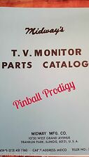 Midway TV Monitor Parts and Schematics Catalog