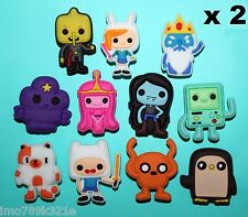Adventure Time Cake Toppers 22 Cupcake Decorations Party Favours XMAS GIFT NEW