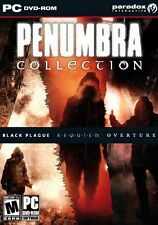 Penumbra Collection Overture Black Plague Requiem PC New Sealed in Box