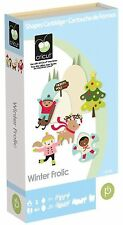 CRICUT *WINTER FROLIC* CARTRIDGE *CHRISTMAS TAGS BORDERS ORNAMENTS NATIVITY* NEW