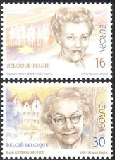 Belgium 1996 Europa/Famous Women/Poet/Writer/Children's Welfare 2v set (n43484)