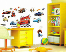 Cars Lightening McQueen Vinyl Wall Sticker Nursery Kids Child  Decals Decor UKIN