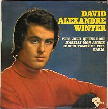 "DAVID ALEXANDRE WINTER ""PLUS JOLIE QU'UNE ROSE"" 60'S EP RIVIERA 231 365"